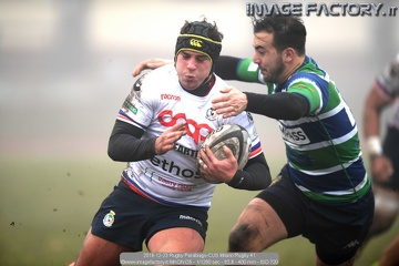 2018-12-23 Rugby Parabiago-CUS Milano Rugby (37-22)